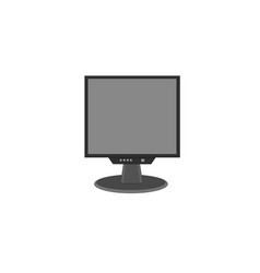modern computer monitor device icon vector image