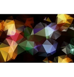 Pattern of geometric shapes TrianglesTexture with vector image