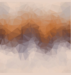 random color triangle ombre seamless pattern tile vector image