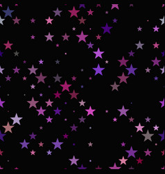 repeating star pattern - background design vector image