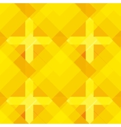 Seamless yellow geometrical pattern vector
