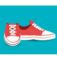 Shoes design vector