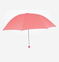 Women pink umbrella vector