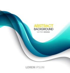 Abstract color lines background Template brochure vector image