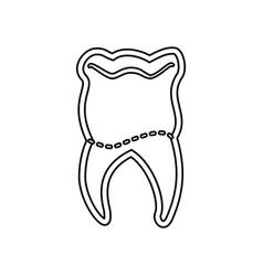 medical dental care vector image