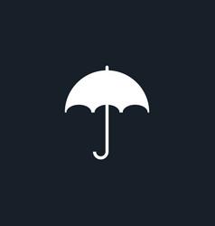 umbrella icon simple vector image