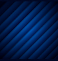 abstract dark blue stripe pattern diagonal vector image