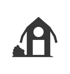 Building icon Farm design graphic vector