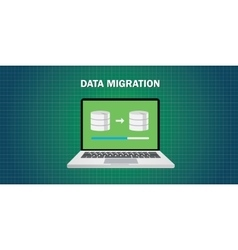 Data migration in computer vector