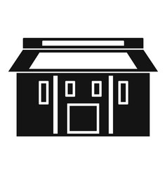 Farm asia house icon simple style vector