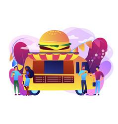 Food festival concept vector