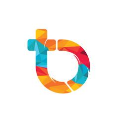 tb letter logo design vector image
