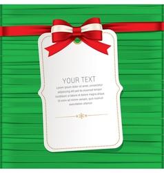 Greeting card 01 vector image