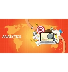 Analytics data from website and get traffic vector