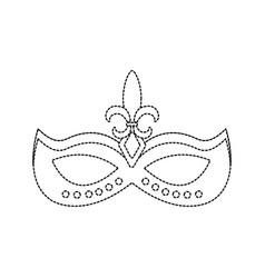 carnival accessory icon image vector image