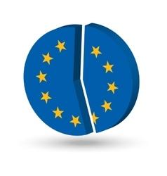 European Union Pie Chart vector