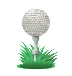 Golf ball vector