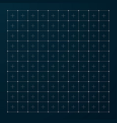 hud grid modern interface grid for futuristic vector image
