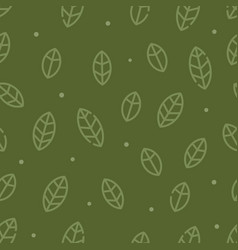 leafs icon texture vector image