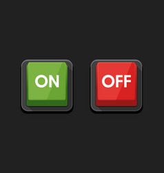 on - off switch power button symbol icon design vector image