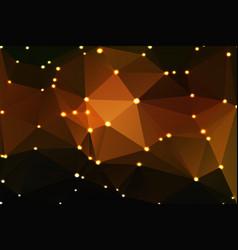 black orange yellow geometric background with vector image