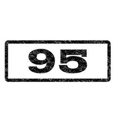 95 watermark stamp vector