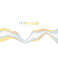 abstract background for header website wave design vector image