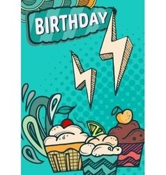 Happy birthday cards vector