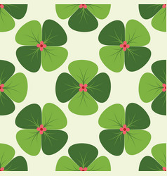 pattern 0064 clover vector image