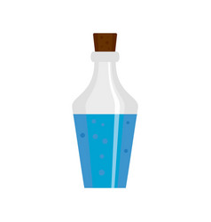 potion bottle icon flat style vector image