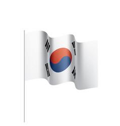 South korean flag vector