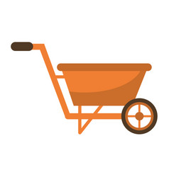 Wheelbarrow garden equipment image vector