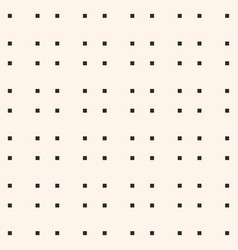 minimalist seamless pattern with small squares vector image