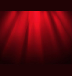 Bright stage with spot illumination presentation vector