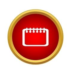 Calendar Icon simple style vector