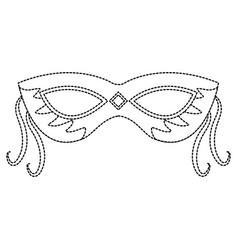 Carnival accessory icon image vector