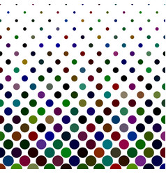 Circle pattern background - geometric design vector
