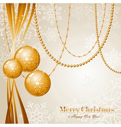 Contemporary Merry Christmas background EPS10 file vector image