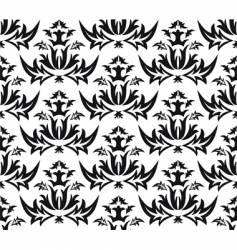 damask victorian seamless pattern vector image