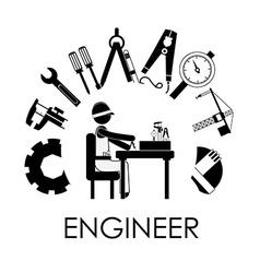 Engineer design vector