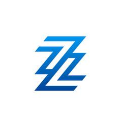 Letter z company logo vector