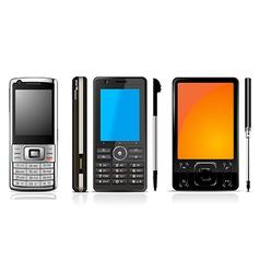 Mobile set vector image