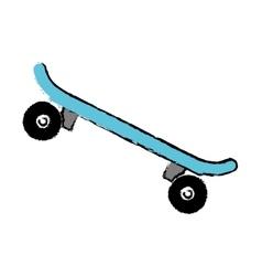 Skateboard extreme sport vector