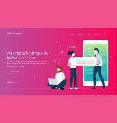 web page design templates image vector image