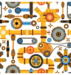 Machinery Seamless Pattern vector image vector image