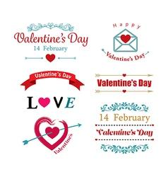 valentines day symbol vector image vector image