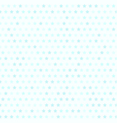 cyan star pattern seamless vector image vector image
