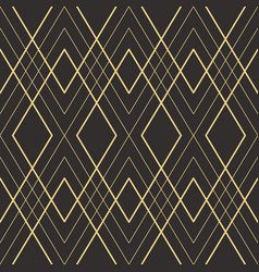 abstract art deco seamless pattern 21 vector image