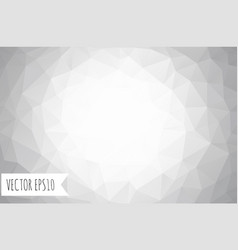 abstract geometric gray background eps10 vector image