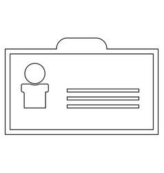 Badge the black color icon vector